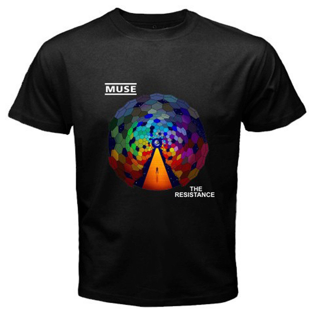 MUSE The Resistance Rock Band Men/'s T-shirt Size S-2XL