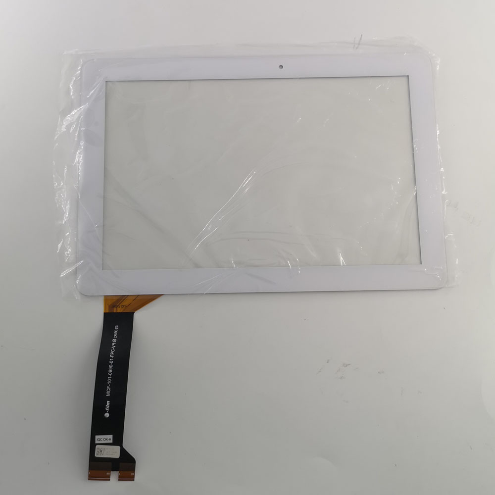 used parts touch screen panel glass External screen For Asus MeMO Pad 10 ME102K ME103K K01E MCF-101-1856-01-FPC-V1.0(China)