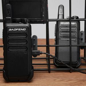 Image 3 - 2 pièces Baofeng BF C9 Portable Radio Mini talkie walkie 400 470MHz UHF VOX USB charge ordinateur de poche bidirectionnel jambon Radio communicateur