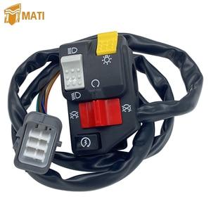 Image 1 - Lenker Schalter Start Stop Scheinwerfer für Honda TRX350TM TRX350FM Fourtrax Rancher 4X4 2000 2005 Ersatz 35020 HN5 671