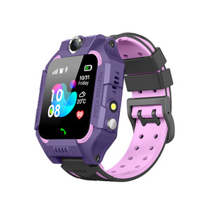 Image 5 - Anti Lost LCD Child LBS Tracker SOS Smart Monitoring Positioning Phone Kids LBS Baby Watch Compatible IOS & Android