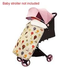 купить Baby Accessories Waterproof Rainproof Windproof Blanket Stroller Cover Plush Cloak Carrier Foot Muff Cartoon Print Unisex Warm дешево