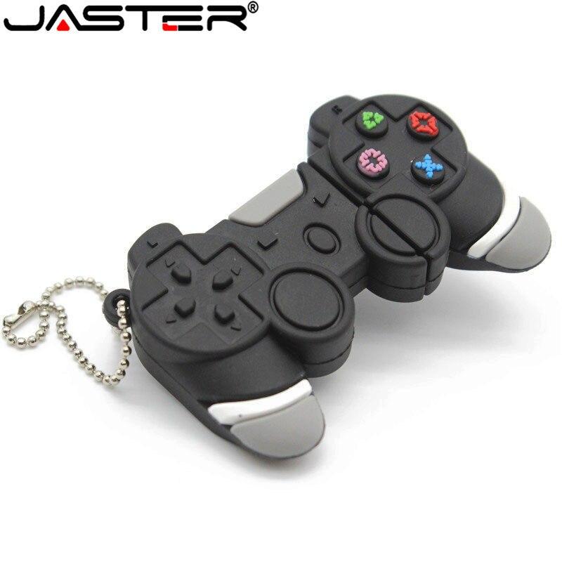 JASTER USB Flash Drive Cartoon Gamepad Model Usb 2.0 Memory Flash Stick Pen Drive U Flash Disk 4GB /16GB/32GB/64GB Free Shipping