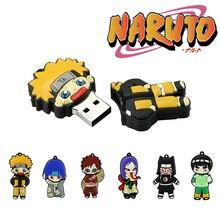 Pendrive Naruto Memoria Personalized USB 256GB 16GB Cle 8GB Gift Ninja 4GB 32GB 64GB
