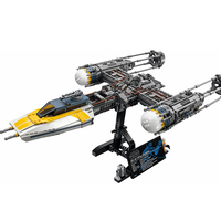 Star Wars War Y wing Fighter Building Blocks Sets Bricks Classic Model Kits Kids Toys Marvel Compatible 75181