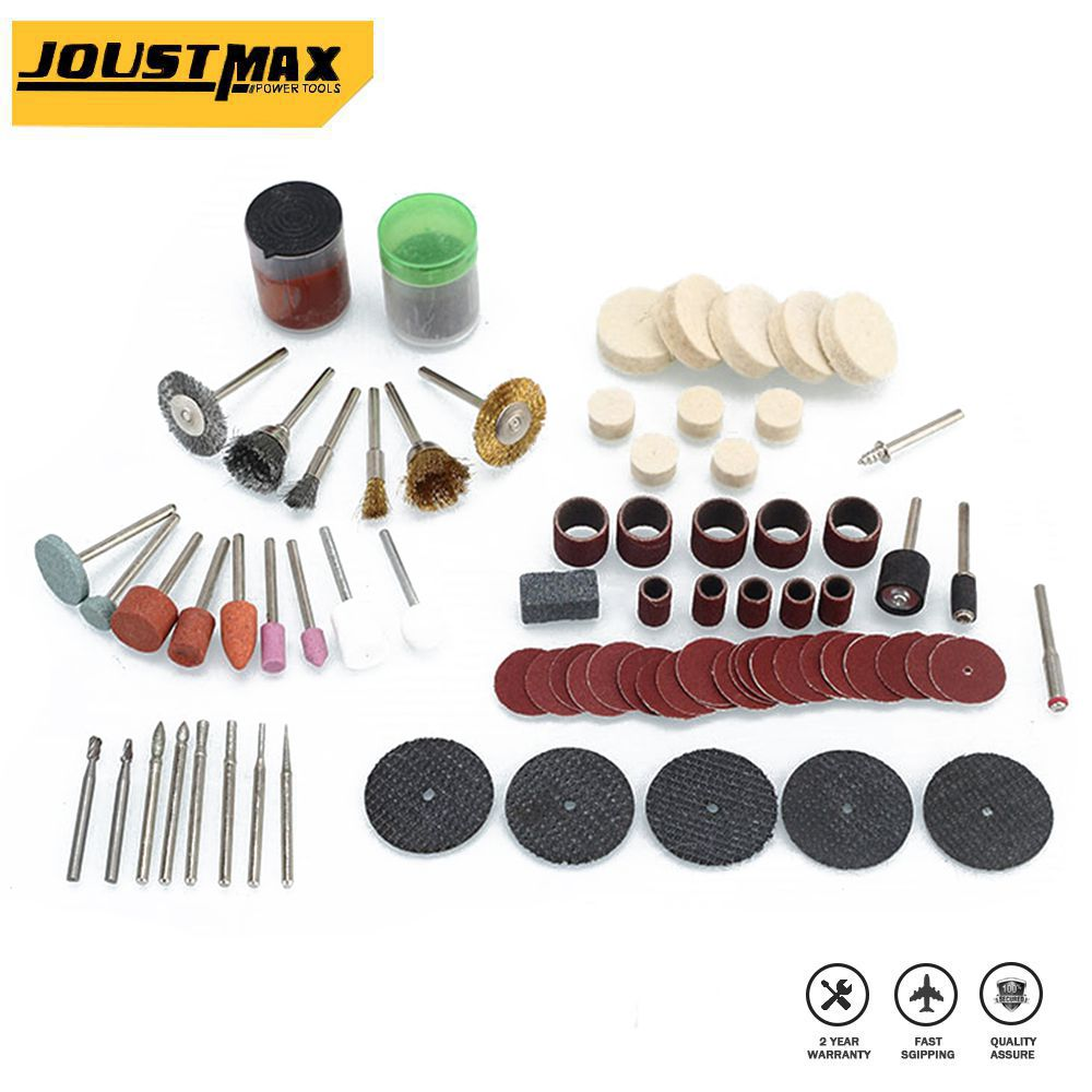 147pcs/ Electric Grinder Kit For Grinding Sanding Polishing Disc Wheel Tip Cutter Drill Disc Engraving Electric Rotary Tool