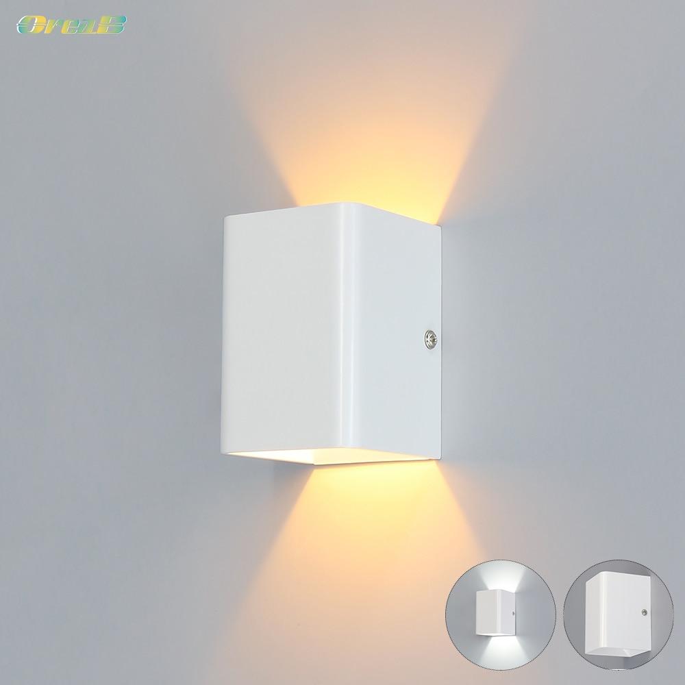 5w Cob Wireless Wall Lamp Indoor White