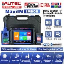 Autel MaxiIM IM608 diagnostic tool IMMO XP400 key programming Bi-Directional obd2 scanner J2534 ECU programming (No IP Limited)