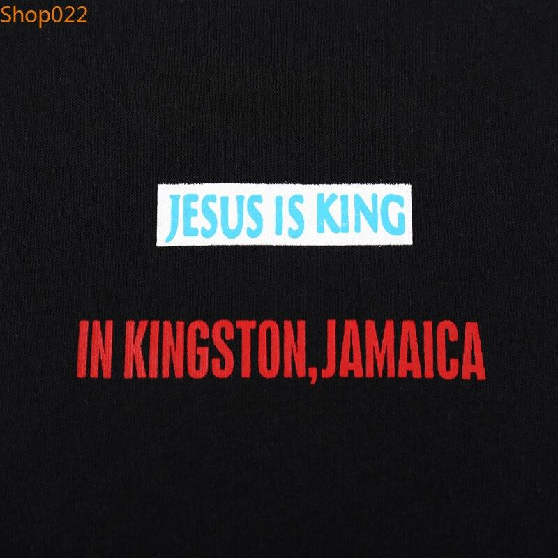 Jesus Is King John 8;30 Kingfisher Foam Print Tees 6