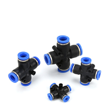 Pipe-Fitting Hose-Tube Quick-Connector Air-Pneumatic-Push 12mm Union 10mm 6mm 8mm 4mm