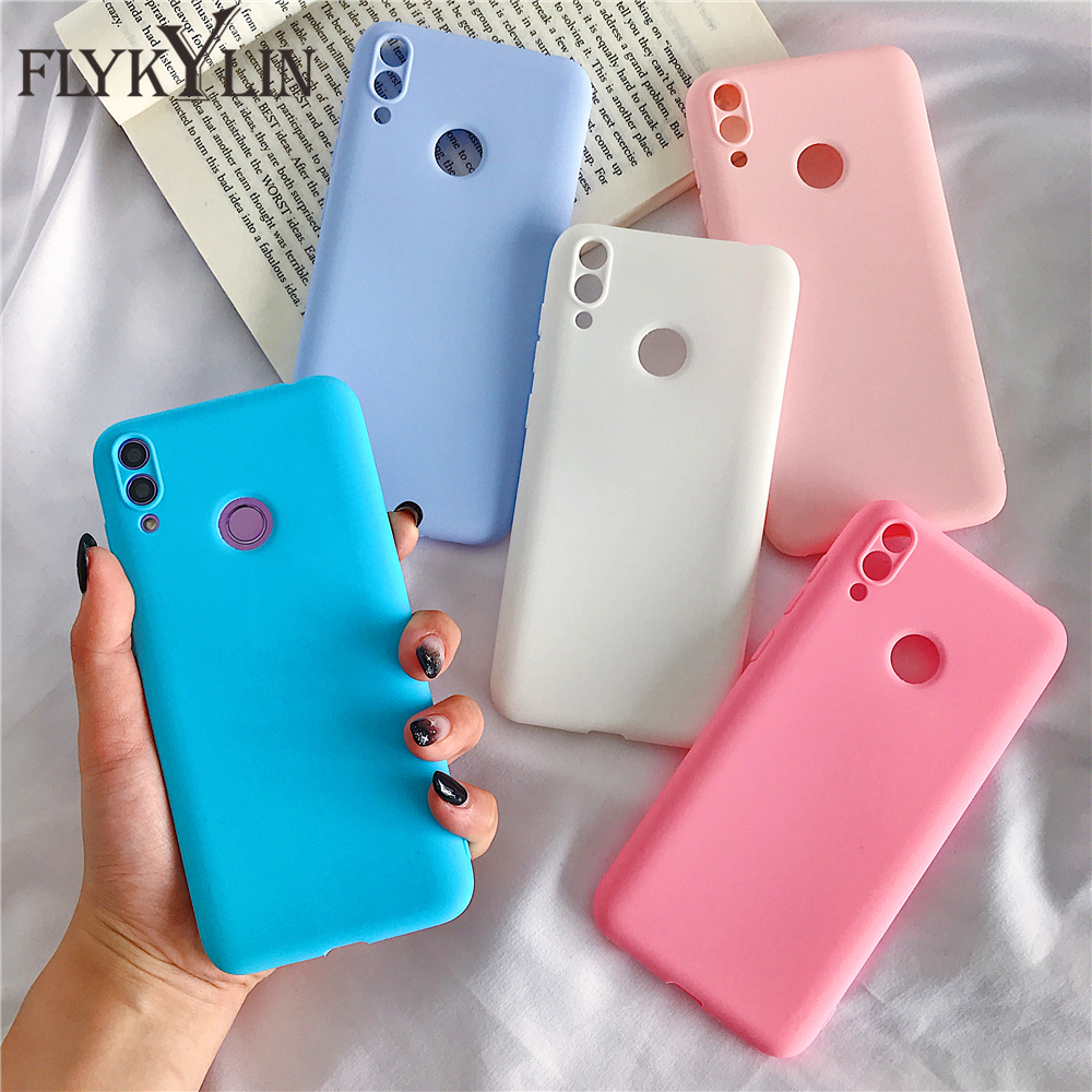 FLYKYLIN Candy Color <font><b>Case</b></font> For xiaomi <font><b>Redmi</b></font> <font><b>Note</b></font> 7 Cover For <font><b>xioami</b></font> <font><b>Redmi</b></font> 7 7A 8 8A 4A <font><b>4X</b></font> 5 5A 6 6A <font><b>Note</b></font> <font><b>4X</b></font> 6 8 Pro Silicone <font><b>case</b></font> image