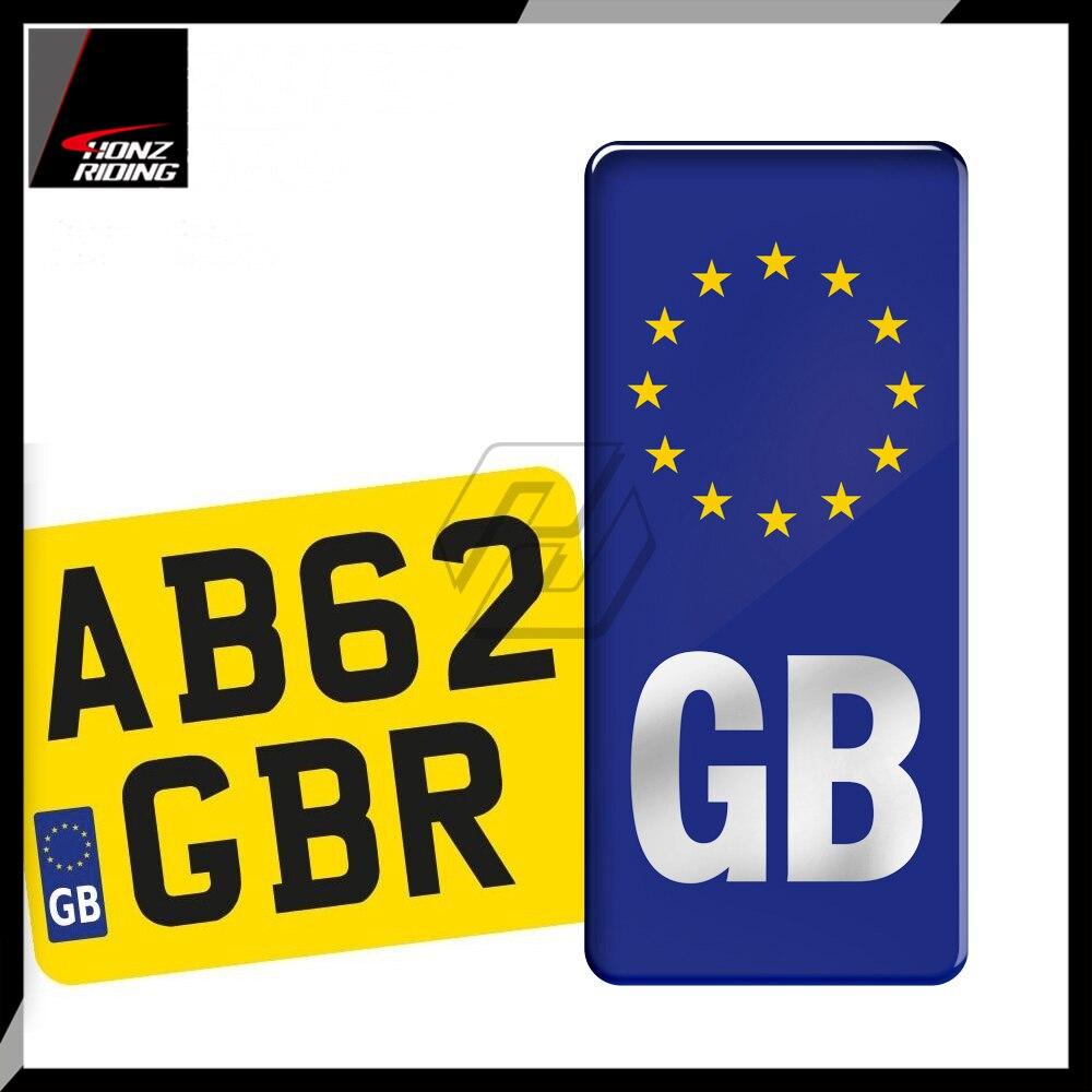 Black 3D RENAULT European Euro License Number Plate Holder Frame German EU