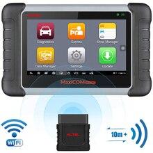 أداة تشخيص السيارة من Autel طراز MK808BT أداة تشخيص OBD2 مزودة بماسح ضوئي أداة OBD2 Wifi أداة تشخيص السيارة وظائف EPB/IMMO/DPF/SAS/TMPS