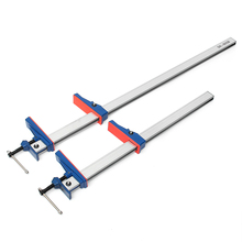 24 36 Inch F Clamp Bar Heavy Long Cramp Benches Grip T Bar Quick Release Parallel Wool Hand Tool DIY Wood Clamps for Woodworking cheap Aluminum alloy and plastic Standard Pipe Clamp Approx 95mm 3 74 Parallel clamp 0-520mm 0-830mm 24 (620mm) 36 (920mm)