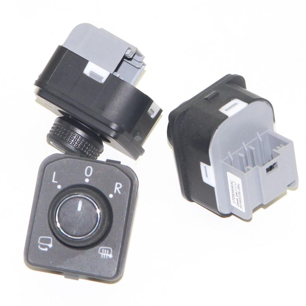 3 pièces vue arrière électrique Auto rabattable rétroviseur latéral interrupteur pour VW Tiguan Passat B8 touran t-roc Crafter Areon
