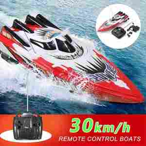 Racing Boat Toys Radio-Control Electric-Ship RC High-Speed Waterproof Children 4CH