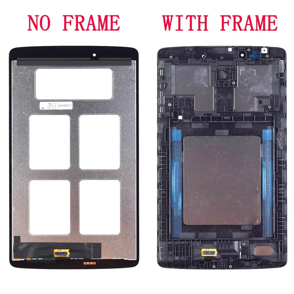 AAA qualité V490 V480 8.0 ''Lcd pour LG G Pad V490 V480 1280*800 LCD affichage numériseur écran tactile capteur assemblée G Pad