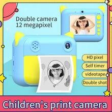 Детский фотоаппарат Мгновенной Печати Камера для детей подарки