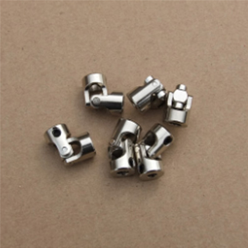 Universal Joint Mini Cardan Coupling Multiple Size 3/4/5/6mm for RC Car Model RC Boats Spare Parts Accessories