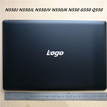 LCD Back Cover Screen Cap Screen Lid For Asus N550J N550JL N550JV N550JK N550 G550 Q550 Bezel Frame Housing Cover