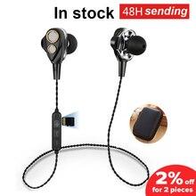 SMN15 dört hoparlörler 6D Surround ses Bluetooth kulaklık TF kartı ile Stereo bas spor kulaklık kablosuz kulaklık