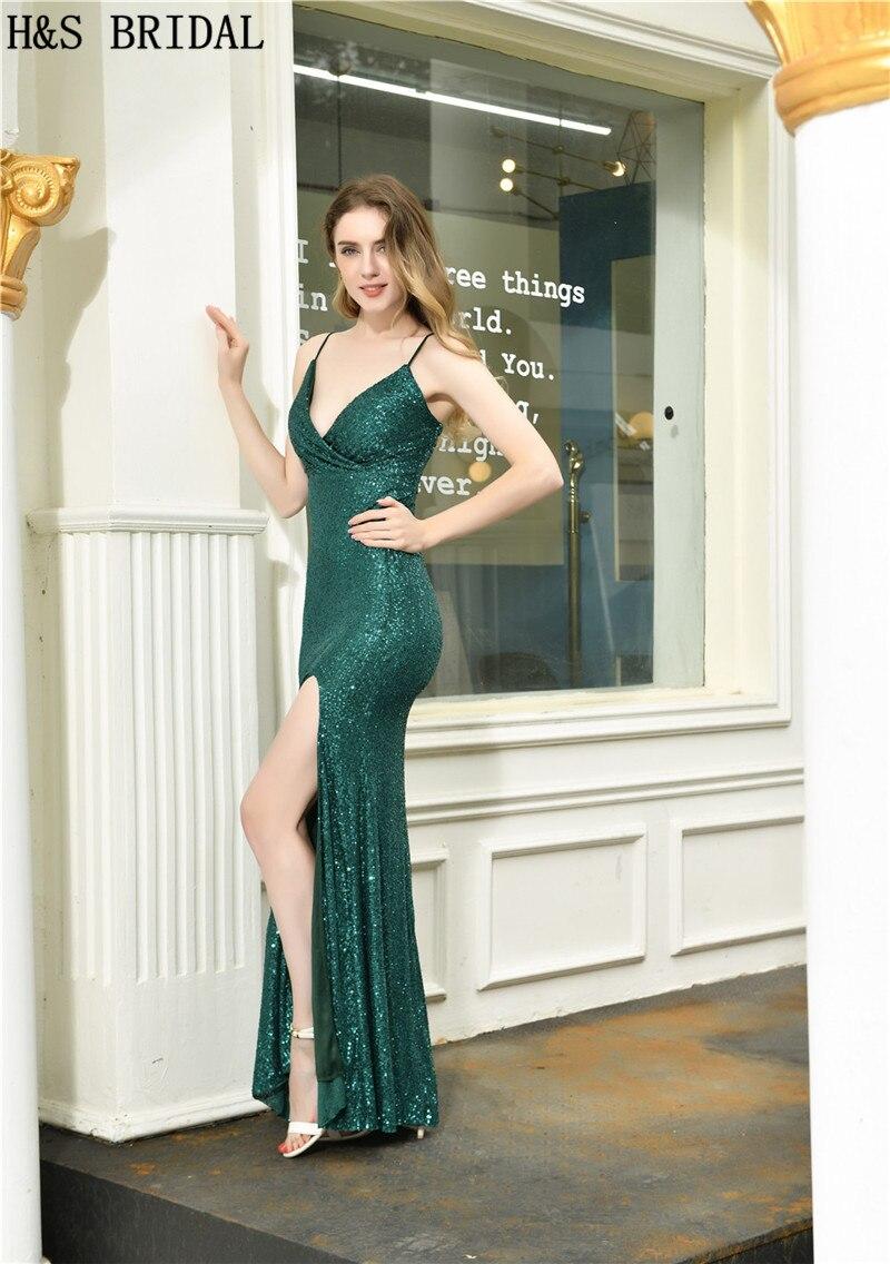 noite com decote em v vestidos de