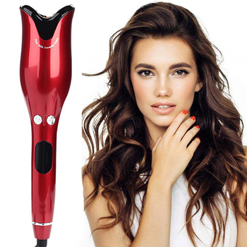 Automatic Spiral Hair Curler Curling Iron Ceramic Curling Wand Rotating Air Curler Hair Crimper Big Wave Hair Waver Hair Curler