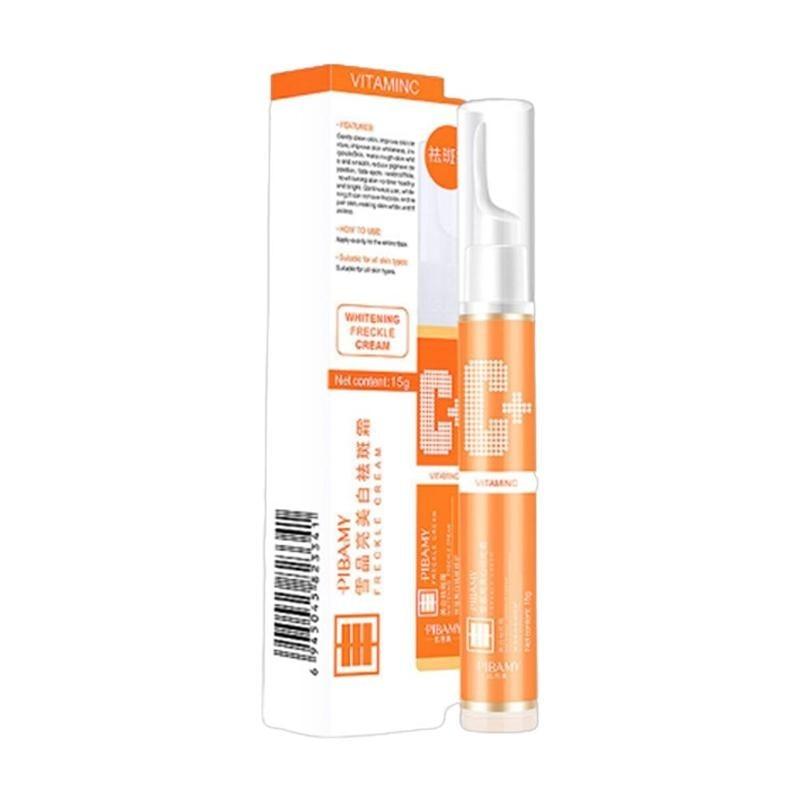 15 мл мгновенный гель для удаления пятен VC для отбеливания веснушек сыворотка осветляет уход за кожей увлажняющий крем|Сыворотка|   | АлиЭкспресс