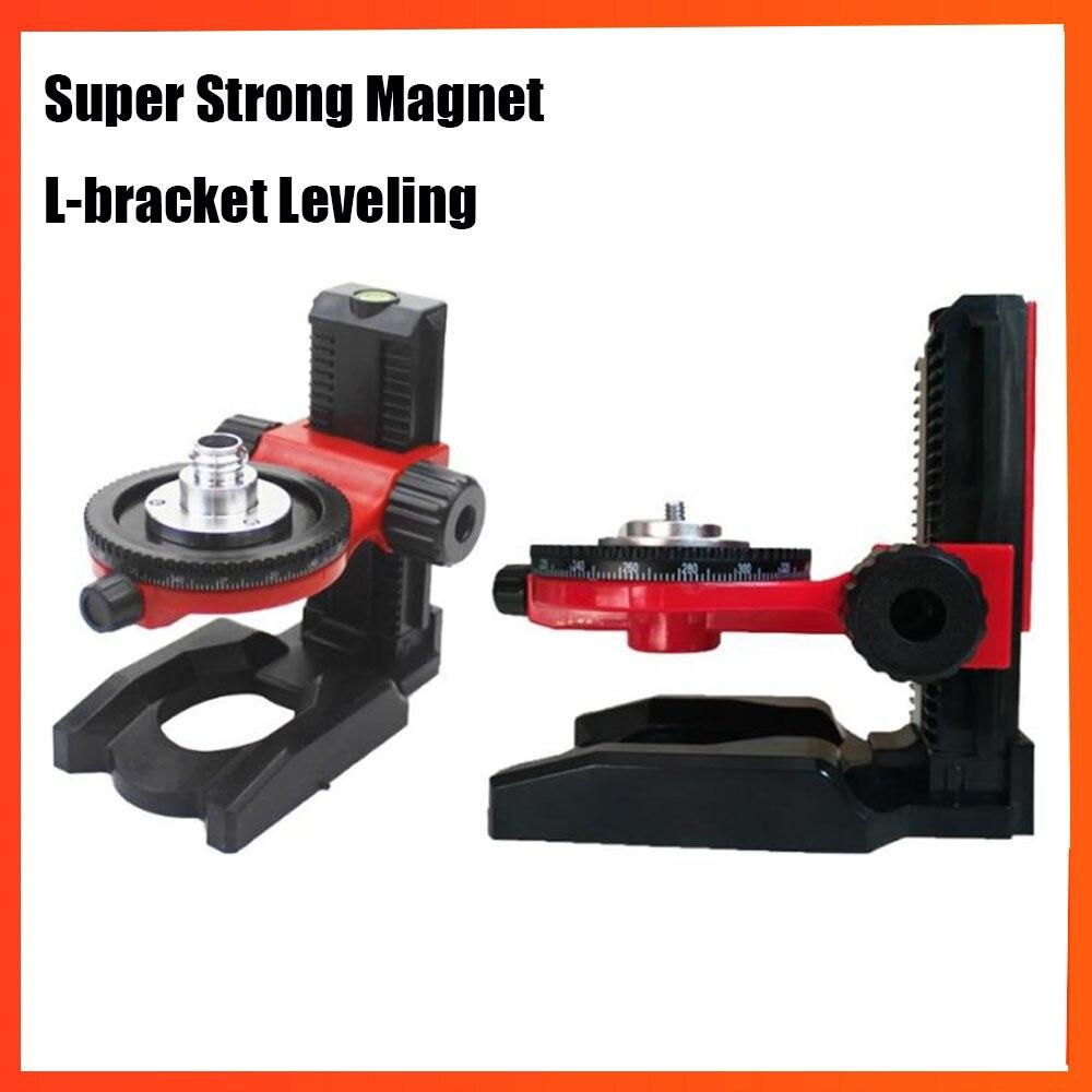 5//8/'/' Laser Level Bracket Magnet Attract L-Bracket Leveling Support Holder Stand