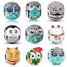 Charms Perak Owl Beads