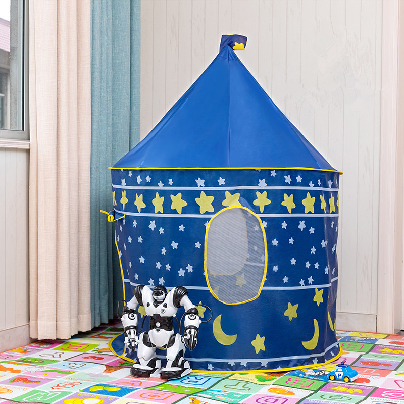 Foldable Children's Tent Portable Wigwam Kids Tent Ball Pool Tipi Tent For Kids Folding Castle Play House Outdoor Boys Girl Toys