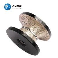 Z LION V30 Diamond Router Bit Full Bullnose Profiling Wheel Wet Use For Hand Tool Granite Marble Grinding With Thread M10