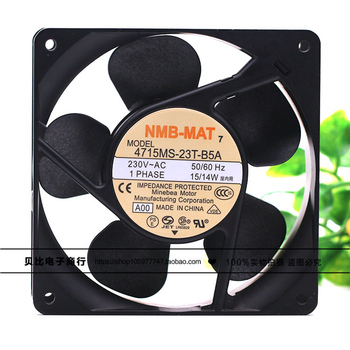 цены NEW NMB-MAT Minebea 4715MS-23T-B5A D00 12038 230V 12CM cooling fan Free shipping