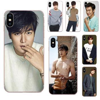 Para Xiaomi Mi A1 A2 A3 CC9 CC9E 9T mi10 mi9 mi8 pro lite SE patrón suave teléfono Lee Min Ho surcoreano Actor modelo cantante