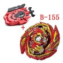 Beyblade explosão turbo sparking com lançador de metal booster bay starter gyro lâmina bayblade luta brinquedos