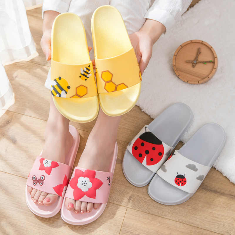 New Mens Slippers Indoor Nice Non-Slip Home Bathroom Slippers For Man Woman  Y6Y00129