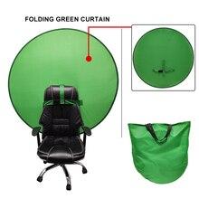 خلفية بلون شاشة خضراء خلفية الصورة استوديو التصوير الدعائم استوديو الصور بسيط طوي عاكس خلفية