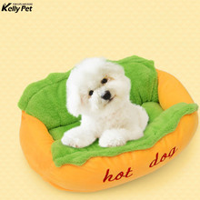 Hot Dog Bed various Size Large Lounger Kennel Mat Soft Fiber Pet Puppy Warm House Product For And Cat