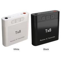 New TX8 2 In 1 Bluetooth 5.0 Transmitter Receiver Adapter for TV PC Headphone Accessories