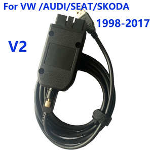 Image 3 - VAG COM 20.12.0 Auto diagnostic Cable VAGCOM HEX V2 20.4.2 FOR VW AUDI Skoda Seat Unlimited VINs multilanguage