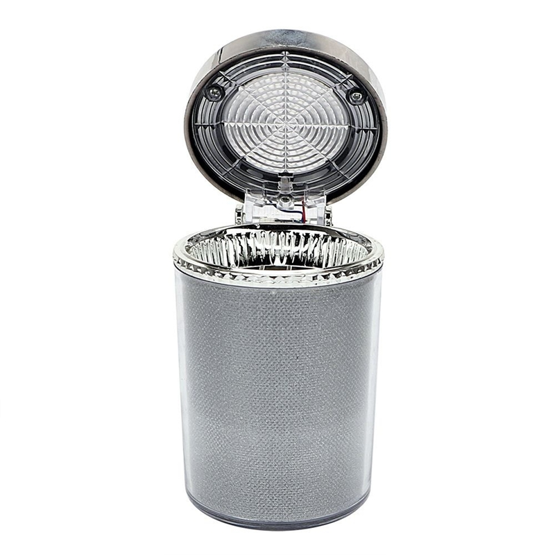 Car Ashtray Holder With Led Light Portable Car Air Vent Smoking Cup Ashtray Color Changing Cover For Interior Supply Car Ashtray     - title=