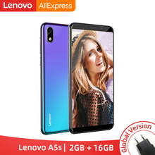 Global Versie Lenovo A5S A5 S MTK6761 Quad Core 5.45 Inch Smartphone 2 Gb 16 Gb Rom Android P Gezicht id 4G Mobiel