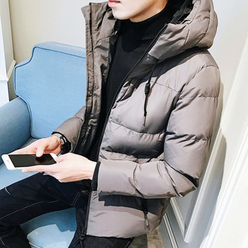New winter fashion casual cotton padded jacket for men