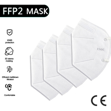 KN95 Mask Respirator Mask-Face-Masks Protective-Mask Dust Safety Mouth Reuseable 5-100pieces
