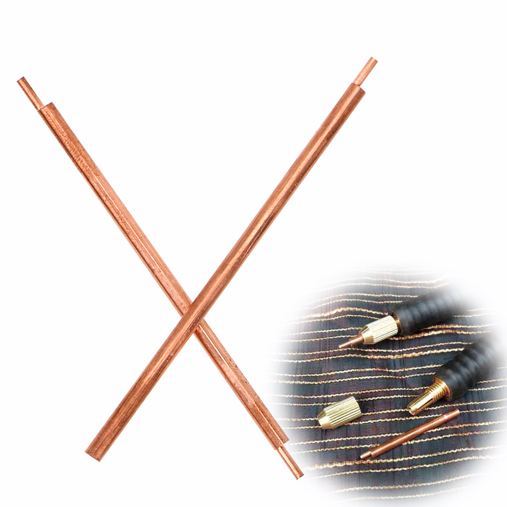 NICEYARD Welder Spot Welding Pin 3 X 80mm Alumina Copper Material Welding Accessories Welding Feet Needle
