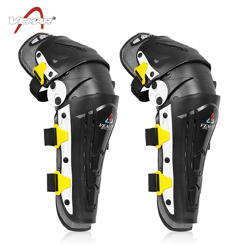 Off-road Motorcycle Kneecap Two-Piece Set Horse Riding Protective Gears Four Seasons Windproof Shatter-resistant Legguard Locomo