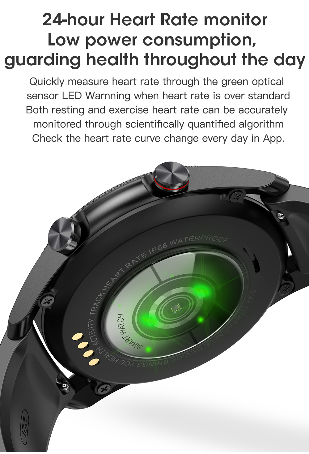 He14bdbbdc3d84facb85eb99da1986050J Timewolf Smart Watch Men 2021 IP68 Waterproof Android Full Touch Sports Smartwatch Bluetooth Call For Samsung Huawei Android IOS