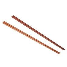 1 пара темно коричневые палочки для еды длина 42 см