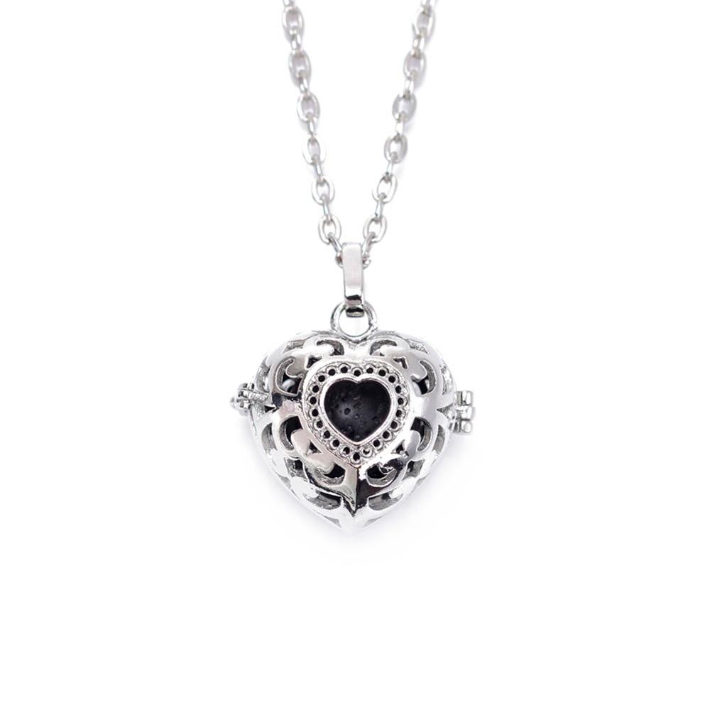 10 հատ 18 մմ սև լավայի բշտիկներ Բնական - Նորաձև զարդեր - Լուսանկար 3