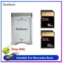 Onefavor-Convertidor de adaptador de tarjeta SD SDHC profesional, 16GB, 32GB, 90 MB/S, para Mercedes Benz, promoción